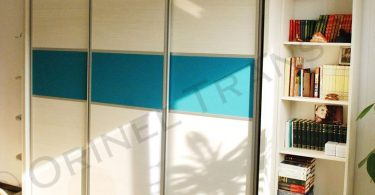 sifonier-glisant-pal-melaminat-crem-si-turquoise