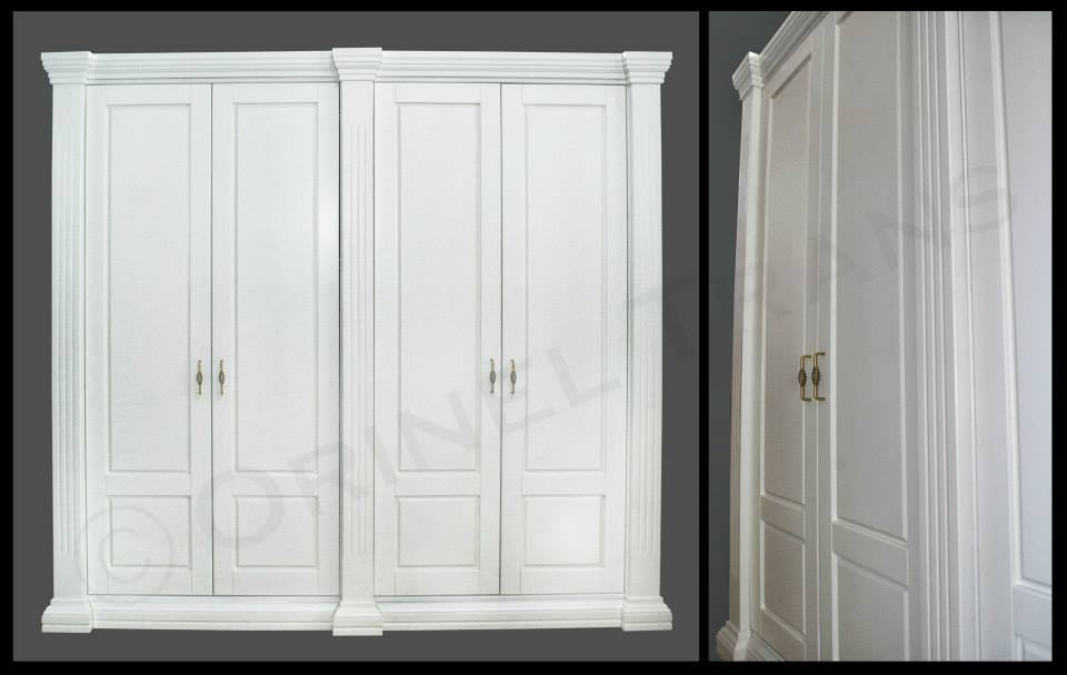 sifonier-lemn-masiv-mat-alb